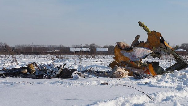 Крушение Ан-148 под Москвой: появилась расшифровка разговора пилотов перед падением