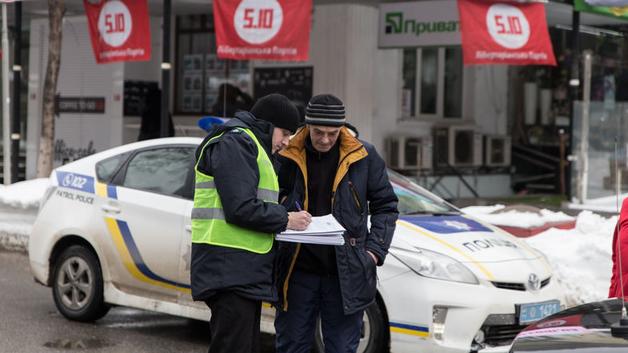 Сбитый кортежем Порошенко пенсионер оказался бывшим работником МВД