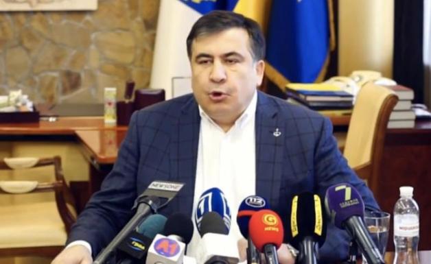 Саакашвили рассказал, как его выдворяли охранники Порошенко и Кононенко
