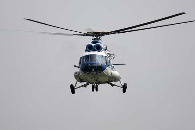 В России разбился вертолет: появилось видео момента падения