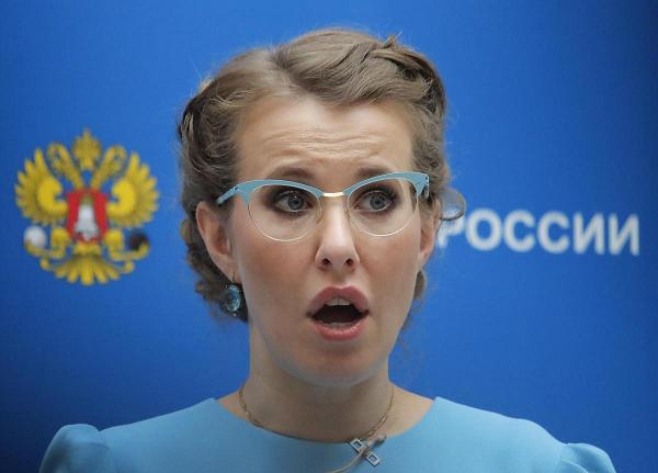 Ксения Собчак попала в украинские черные списки за АР Крым