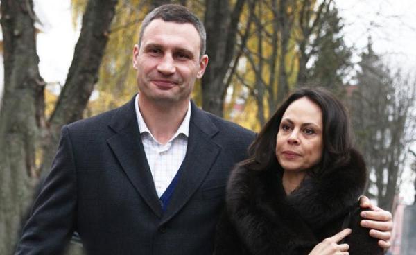Свой День рождения жена Кличко отгуляла без него