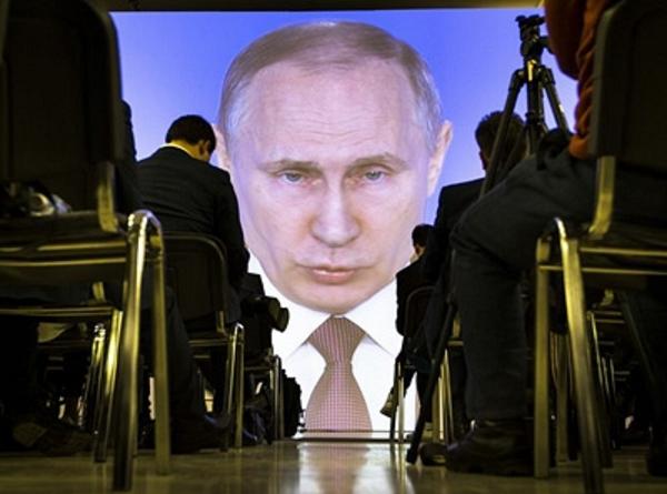 Кампания Путина с запахом рыбы