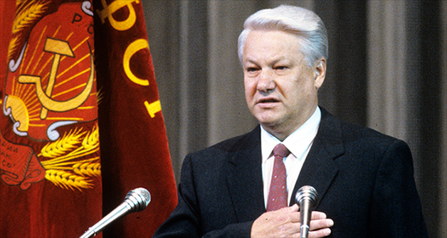 Сенсационная речь Ельцина в конгрессе США, которая была запрещена к показу по ТВ