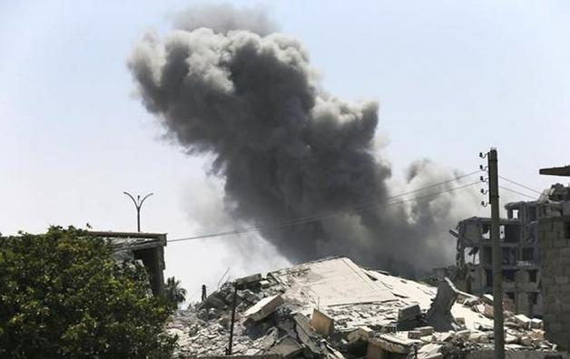 По военной авиабазе в Сирии нанесли удары