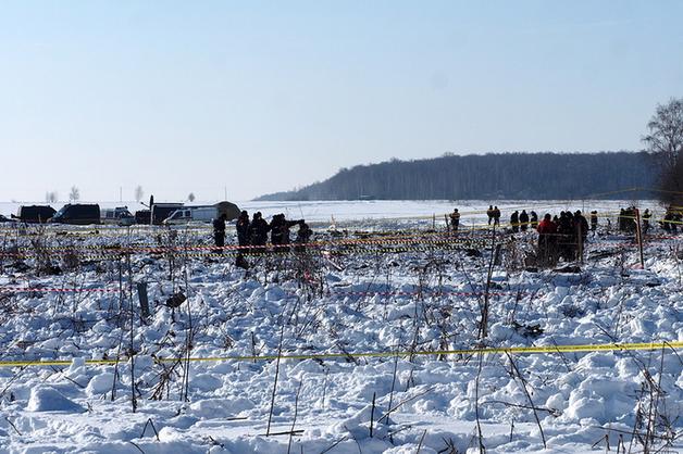 Дочь погибшей в крушении Ан-148 пожаловалась на останки тел на месте крушения