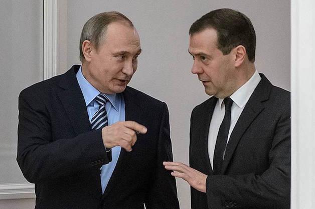 Опубликованы декларации о доходах Путина и Медведева за 2017 год