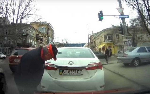 Одесский мошенник пытался заработать на «липовом» ДТП