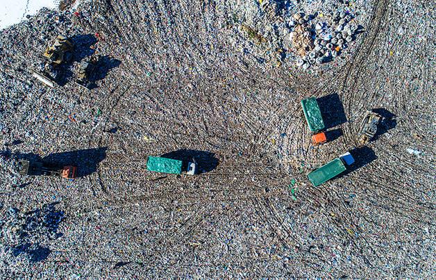 Воробьевы горы мусора