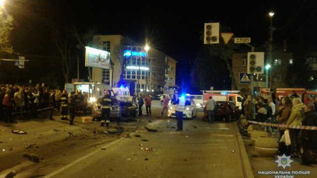 В Виннице в результате ДТП пострадали 5 человек