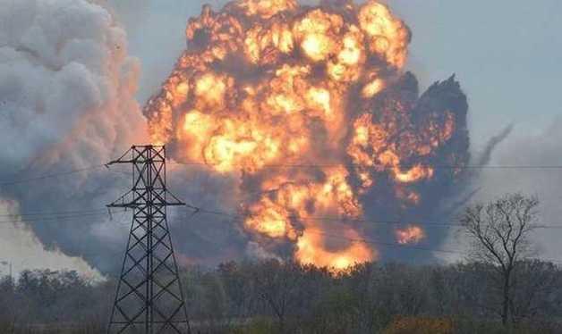 На Луганщине во время взрыва погиб мирный житель