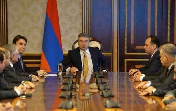 Обстановка в Армении: Правящая партия отказалась выдвигать кандидата на пост премьера