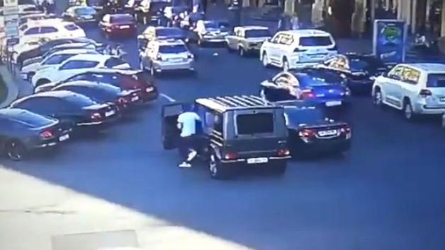 Появилось видео начала конфликта, в котором пострадал Мустафа Найем