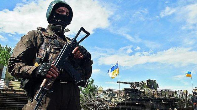 Объединенные силы взяли в плен российского военного на Донбассе