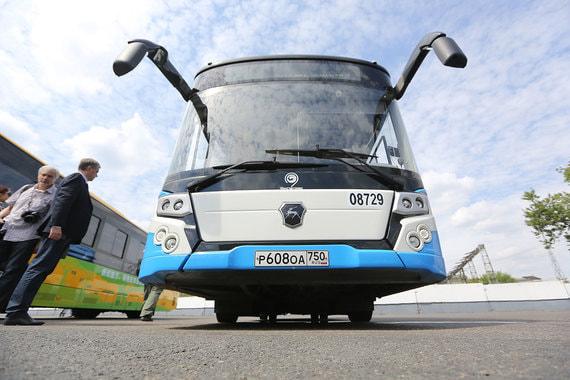 Московские власти закупят по 100 электробусов у «Камаза» и ГАЗа