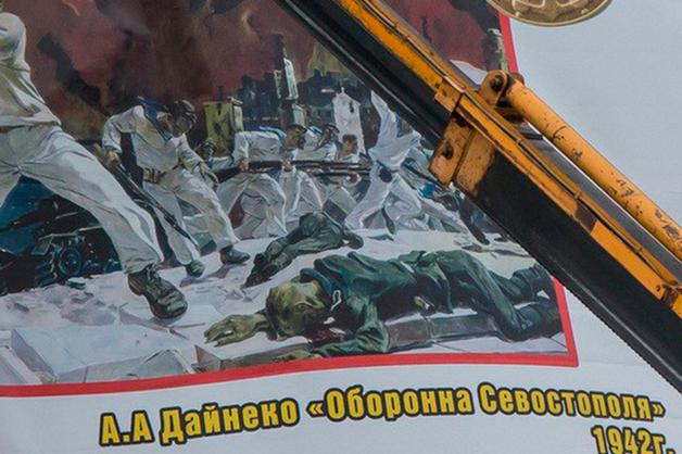 Орфографические ошибки на баннерах ко Дню Победы возмутили курганцев