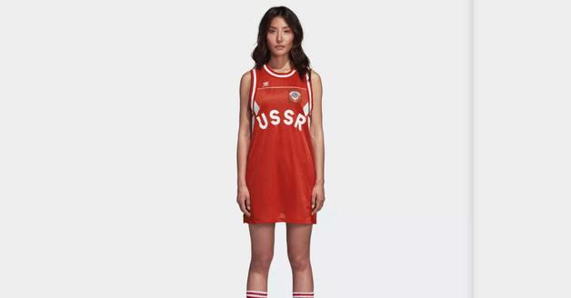 Adidas снял с продажи одежду с советской символикой