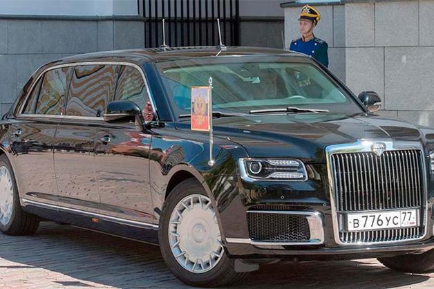 Песков рассказал о впечатлениях Путина от поездки на новом лимузине