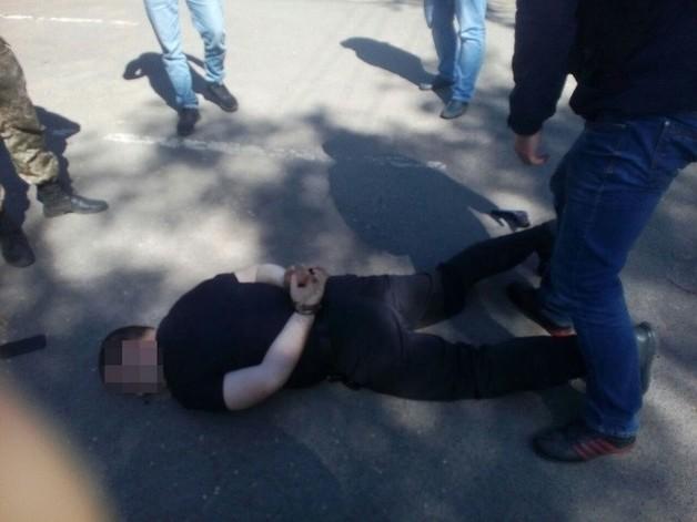 СБУ задержала руководителя райотдела полиции