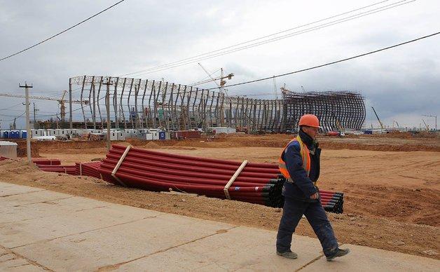 Срывы сроков стройки в Крыму объяснили использованием украинских проектов