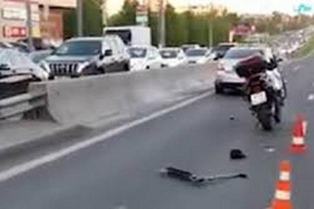 Мотоциклист сбил ребенка на пешеходном переходе на Алтуфьевском шоссе
