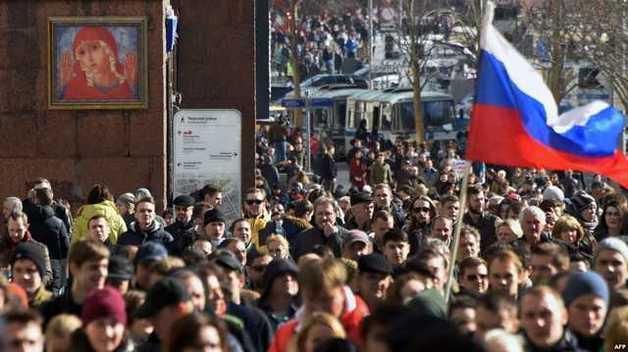 В Москве стартовал новый митинг в защиту интернета
