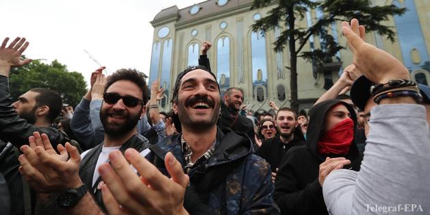 """""""Наркомайдан"""" в Тбилиси завершился после извинений полиции"""