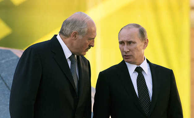 Лукашенко «набросился» на Путина: опубликовано видео