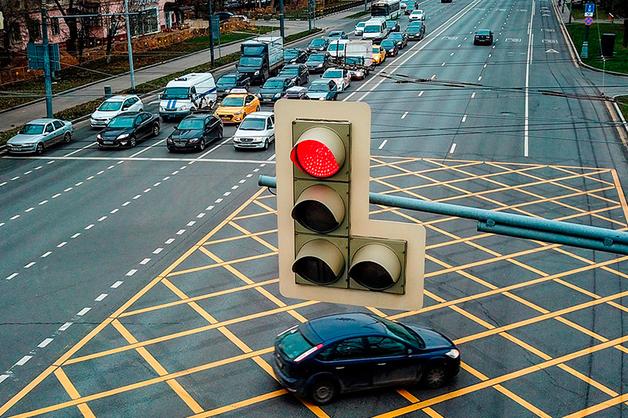 Московские светофоры решено передать в частные руки