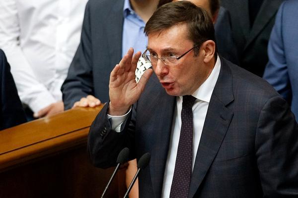 Как Юрий Луценко играл в политику в ГПУ