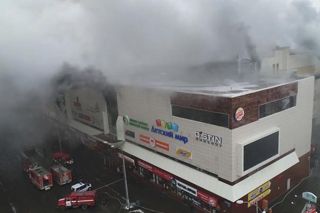 «Это вещдок»: в Кемерово приостановили снос сгоревшего торгового центра «Зимняя вишня»