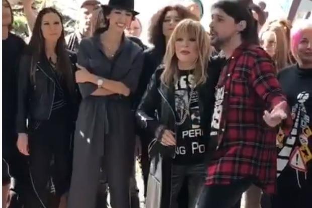 Пугачева примерила образ рокерши и ей это к лицу