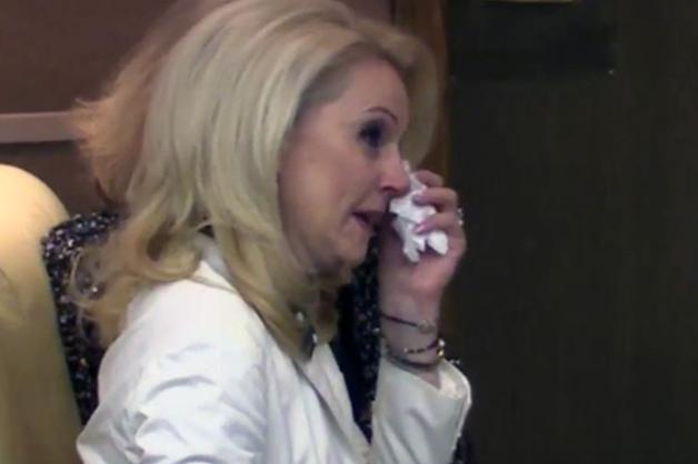 Глава Счетной палаты Голикова расплакалась во время увольнения