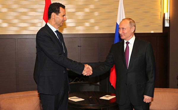 Путин встретился с Асадом в Сочи