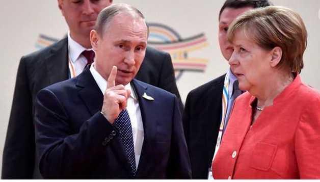 Меркель и Путин договорились, что среди миротворцев на Донбассе не будет стран НАТО - СМИ