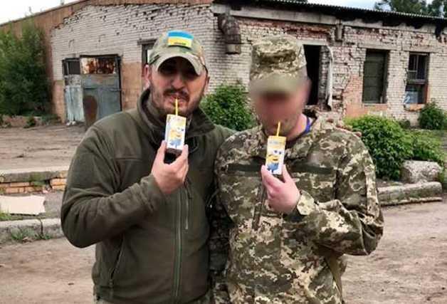 """Волонтер показал командира таинственной """"третьей силы"""" на Донбассе"""