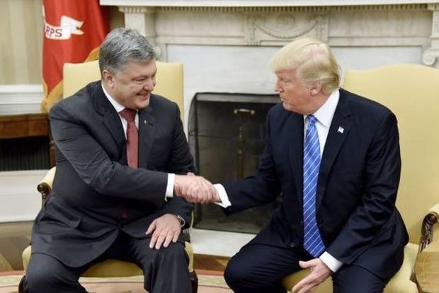 Встреча Порошенко с Трампом стоила $400 тысяч