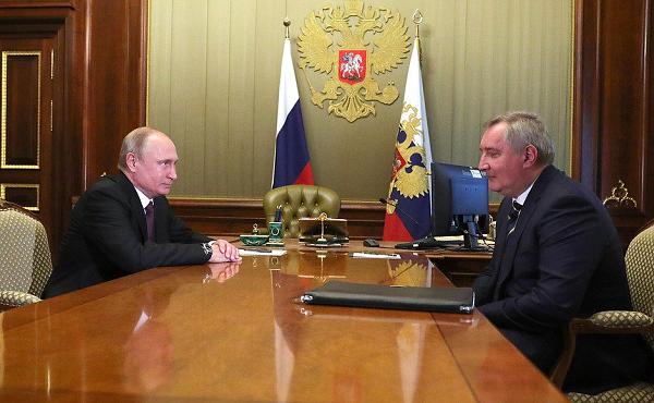 Рогозин возглавил «Роскосмос»