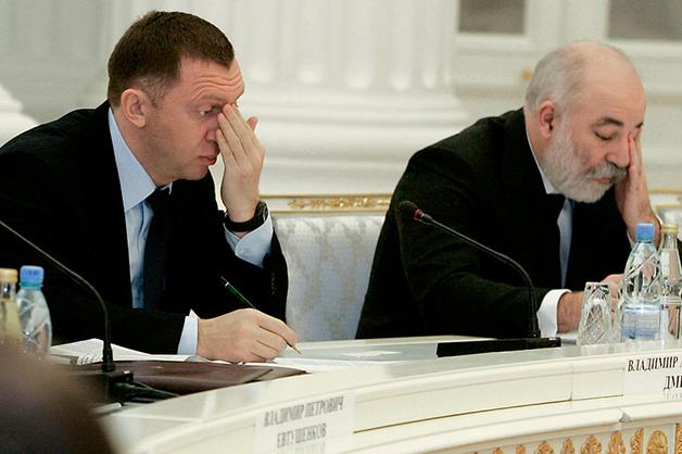 Украина включила в санкционный список Дерипаску, Миллера и Вексельберга