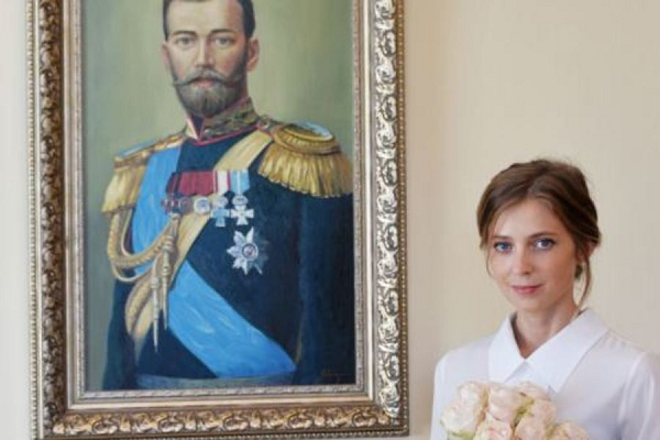 """""""Найдите дуре мужика!"""" Поклонская обиделась на жесткую карикатуру с Николаем ІІ"""