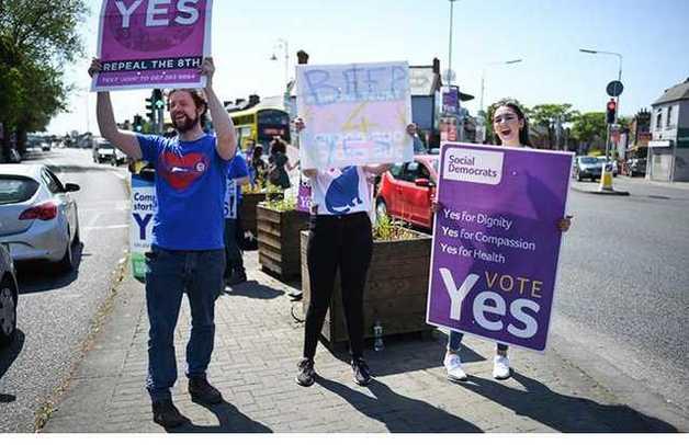 В Ирландии на референдуме поддержали легализацию абортов