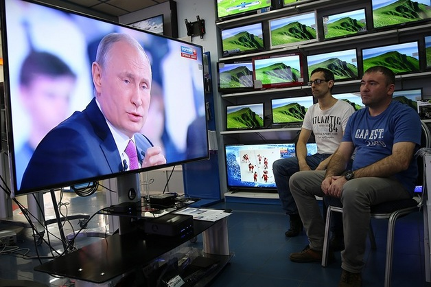 Кремль назвал дату прямой линии с Путиным
