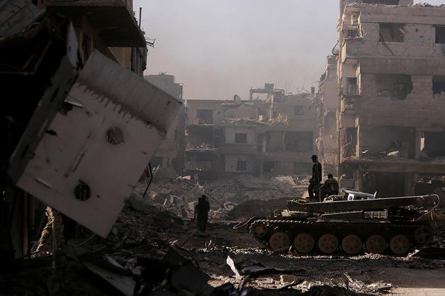 Четверо российских военных погибли в бою в Сирии
