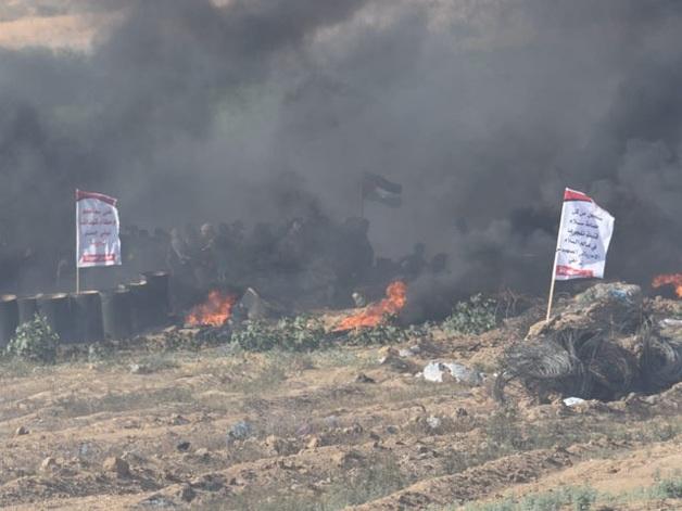 На границе Израиля и сектора Газа вспыхнули новые бои: около сотни раненых