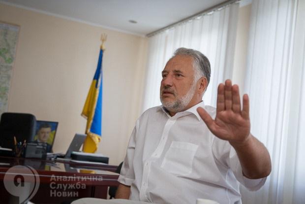 Глава Донецкой ОГА Павел Жебривский подал в отставку