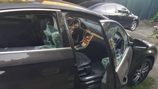 В Печерском районе Киева произошло вооруженное ограбление