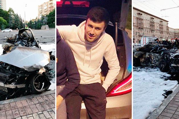 Отец сгоревшего на Кутузовском водителя Mercedes заявил, что сын хорошо водил
