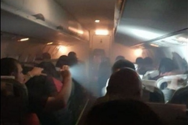 Росавиация объяснила задымление на борту самолета с болельщиками из Перу