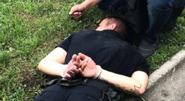 В Киеве на крупной взятке попался коп патрульной полиции