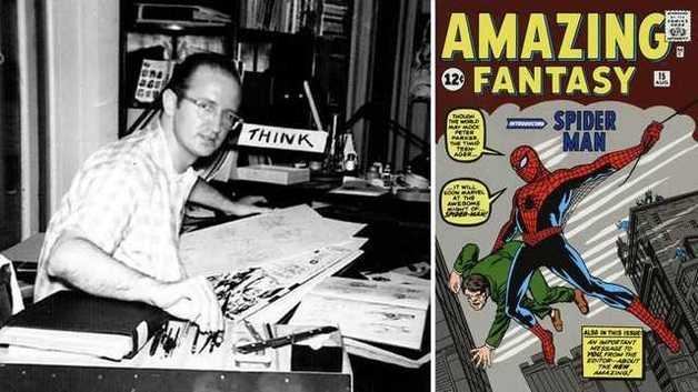 В США умер создатель Человека-паука